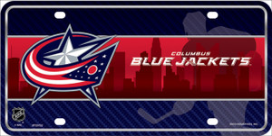 Columbus Blue Jackets Wholesale Metal Novelty License Plate