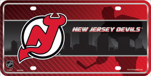 New Jersey Devils Wholesale Metal Novelty License Plate