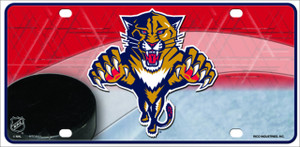 Florida Panthers Wholesale Metal Novelty License Plate