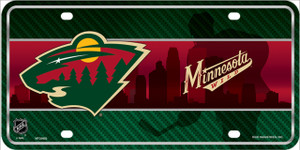 Minnesota Wild Wholesale Metal Novelty License Plate