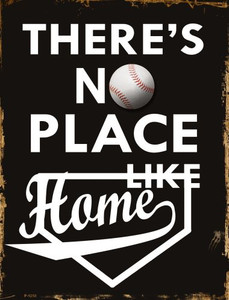 No Place Like Home Wholesale Metal Novelty Parking Sign