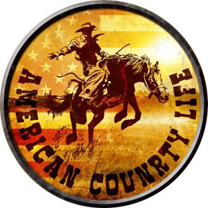American Country Life Wholesale Novelty Metal Circular Sign