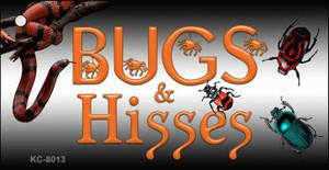 Bugs and Hisses Wholesale Novelty Key Chain