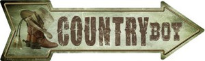 Country Boy Wholesale Novelty Metal Arrow Sign
