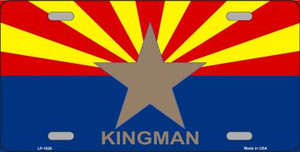 Kingman Arizona State Flag Wholesale Metal Novelty License Plate