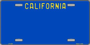 California Blue State Background Wholesale Metal Novelty License Plate LP-1844