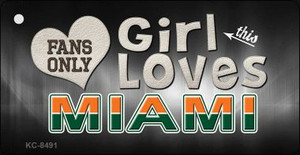 This Girl Loves Miami Wholesale Novelty Key Chain