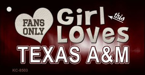 This Girl Loves Texas A&M Wholesale Novelty Key Chain