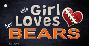 This Girl Loves Her Bears Wholesale Novelty Key Chain