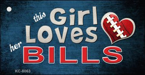 This Girl Loves Her Bills Wholesale Novelty Key Chain