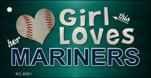 This Girl Loves Her Mariners Wholesale Novelty Key Chain