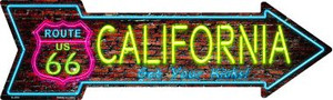 California Neon Wholesale Novelty Metal Arrow Sign
