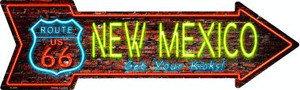 New Mexico Neon Wholesale Novelty Metal Arrow Sign
