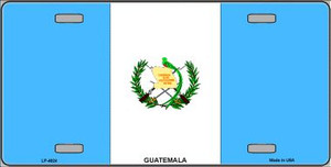 Guatemala Flag Wholesale Metal Novelty License Plate