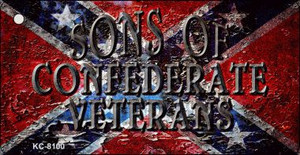 Sons Of Confederate Veterans Wholesale Novelty Key Chain