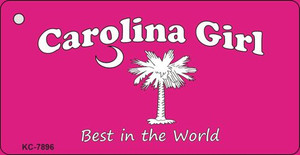 Carolina Girl Pink Wholesale Novelty Key Chain KC-7896