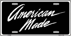 American Made Wholesale Metal Novelty License Plate LP-1884