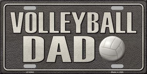Volleyball Dad Wholesale Metal Novelty License Plate