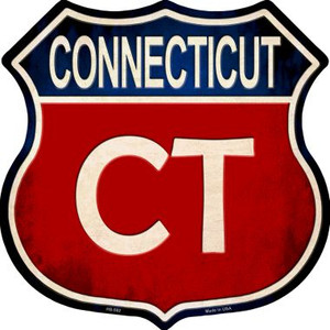 Connecticut Wholesale Metal Novelty Highway Shield