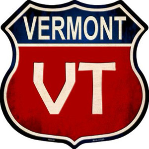Vermont Wholesale Metal Novelty Highway Shield