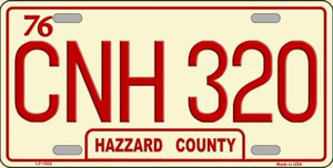 CNH 320 Wholesale Metal Novelty License Plate