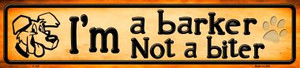 Im A Barker Wholesale Novelty Metal Small Street Signs