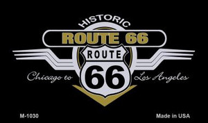 Route 66 Wings Wholesale Novelty Metal Magnet
