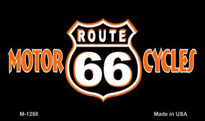 Route 66 Cycles Wholesale Novelty Metal Magnet