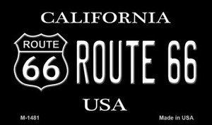Route 66 Shield California Wholesale Novelty Metal Magnet