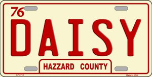 Daisy Wholesale Metal Novelty License Plate