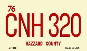 CNH 320 Hazzard County Wholesale Novelty Metal Magnet
