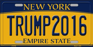 Trump 2016 Wholesale Metal Novelty License Plate