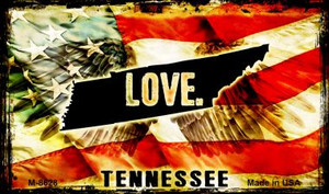 Love Tennessee Wholesale Novelty Metal Magnet