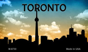 Toronto Silhouette Wholesale Novelty Metal Magnet