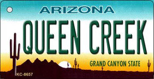 Queen Creek Arizona Background Wholesale Novelty Key Chain
