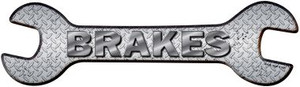 Brakes Wholesale Novelty Metal Wrench Sign