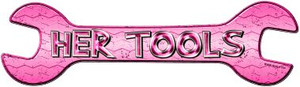 Her Tools Wholesale Novelty Metal Wrench Sign