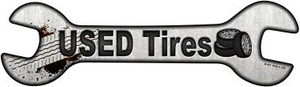 Used Tires Wholesale Novelty Metal Wrench Sign
