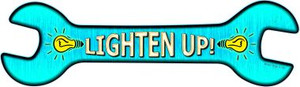 Lighten Up Wholesale Novelty Metal Wrench Sign