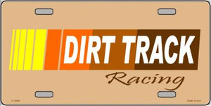 Dirt Track Racing Wholesale Metal Novelty License Plate LP-2006