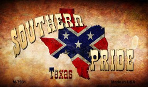 Southern Pride Texas Wholesale Novelty Metal Magnet