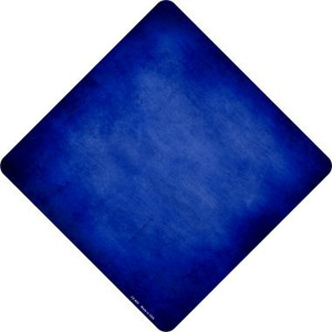 Blue Oil Rubbed Wholesale Novelty Metal Crossing Sign