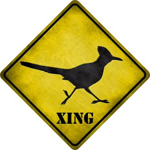 Roadrunner Xing Wholesale Novelty Metal Crossing Sign