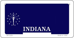 Indiana Novelty State Bicycle License Plate