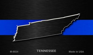 Tennessee Thin Blue Line Wholesale Novelty Metal Magnet