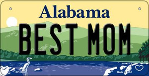 Alabama Best Mom Novelty Wholesale Metal Bicycle Plate