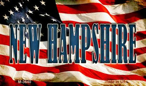 New Hampshire Wholesale Novelty Metal Magnet