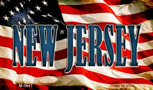 New Jersey Wholesale Novelty Metal Magnet