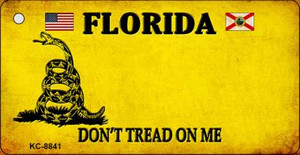 Florida Dont Tread On Me Wholesale Novelty Key Chain