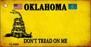 Oklahoma Don't Tread On Me Wholesale Novelty Key Chain